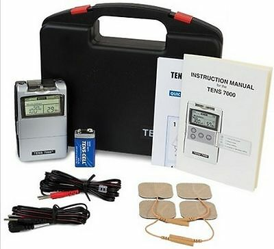 TENS 7000 Digital Back Pain Relief System Unit For Muscle & Joint Aches (OTC)