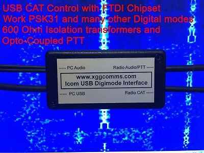 Yaesu USB CAT and Digimode Interface - PSK31 etc. FT-1000MP, FT-2000 and more