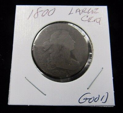 Large Cent 1800 Draped Bust (7567-Mall)