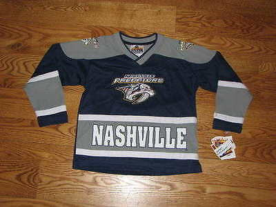 NEW Boys Nashville Predators Kids Jersey Size 3T Toddler NWT Shirt Girls Unisex