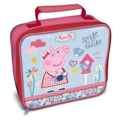 NEW Peppa Pig 'Home Sweet Home' Insulated Lunch Bag Box
