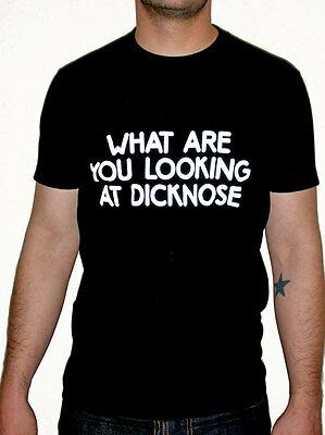 What Are You Looking At Dicknose T-Shirt as seen in Teen Wolf  - NEW