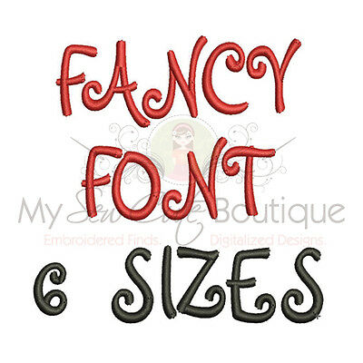 Embroidery Machine Fonts - Machine Embroidery Design IMFCD25