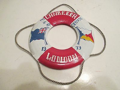 Canberra 1979 Cruse London Collectors Life Ring Excellent Condition