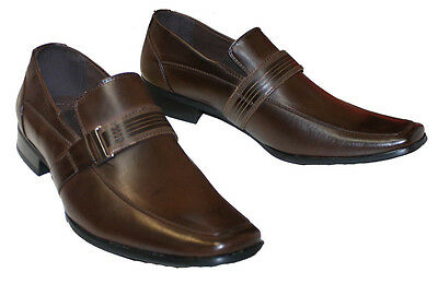 Mens Dress Shoes Leather Lined Brand New Shoes Brown Coronado-Style  Bardin 5e6ca505719