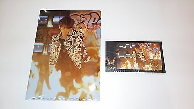 BAP HIMCHAN Warrior HMV Preorder Clear File and Sticker Japanese Official RARE