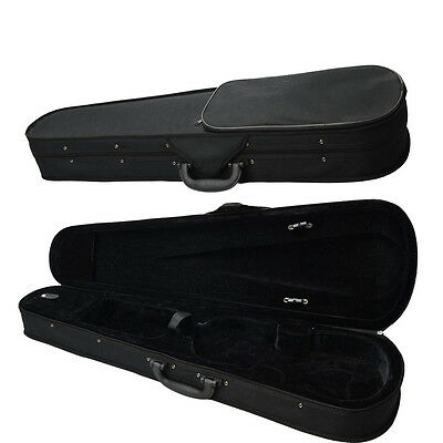 New Student Professional Oxford fabric Case for 4/4 Violin Black Triangle Inside