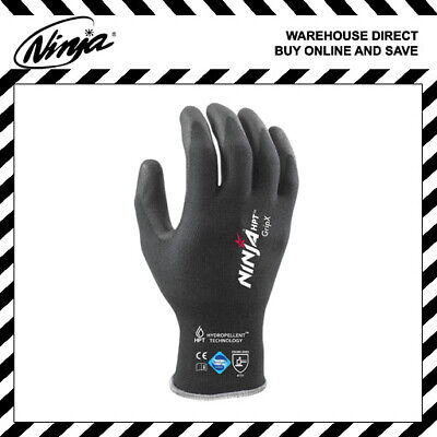 X-Large Ninja HPT Gloves Work Safety Hand Protection General Purpose