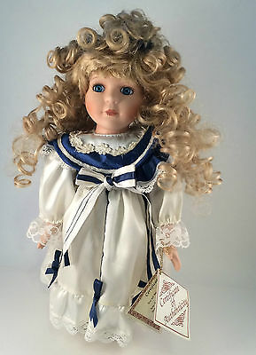 """Barbara Collins Doll The Collector's choice Doll Dan Dee 13"""" signed COA Blonde"""