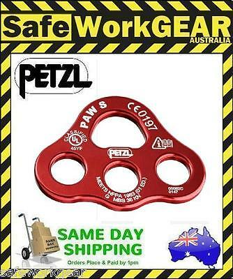 Petzl PAW Rigging Plate Small 36kN RED Rope Access Climbing Gear Equipment