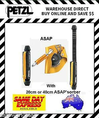 Petzl ASAP with 20cm or 40cm ASAP'sorber Mobile Fall Arrest Device Climbing