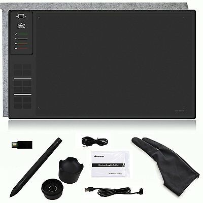 Wireless Graphic Drawing Pen Tablet WH1409 2016 Largest Giano Built-in 8GB Card