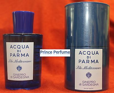 ACQUA DI PARMA BLU MEDITERRANEO GINEPRO DI SARDEGNA EDT NATURAL SPRAY - 75 ml
