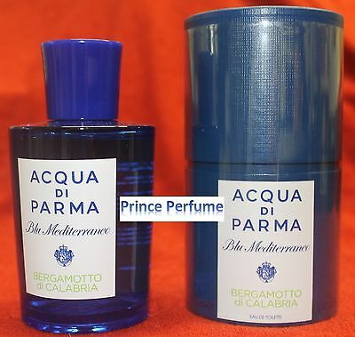 ACQUA DI PARMA BLU MEDITERRANEO BERGAMOTTO DI CALABRIA EDT NATURAL SPRAY - 75ml