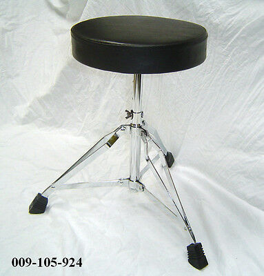 Drum or Piano / Keyboard Stool / Throne - Double Braced Round Top 009-105-924