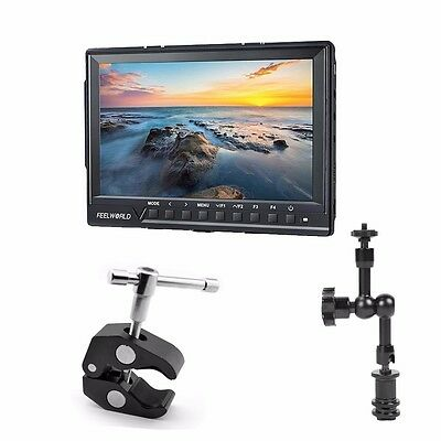Feelworld FW-760 7'' Video Monitor IPS Full HD 1920x1200 1080p Mini & Micro HDMI