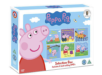Peppa Pig Selection DVD Box Set (6 disc) New/Sealed