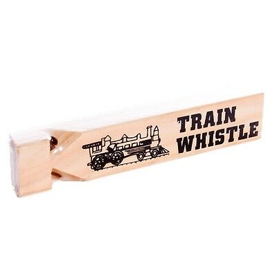 CLASSIC WOODEN CHOO CHOO TRAIN WHISTLE SOUND EFFECT ~ For all Thomas fans!