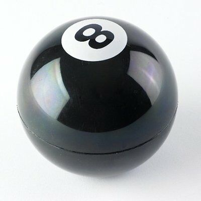 Magic 8 Decision Ball - Eight Prediction Game Toy Mystic Maker Black