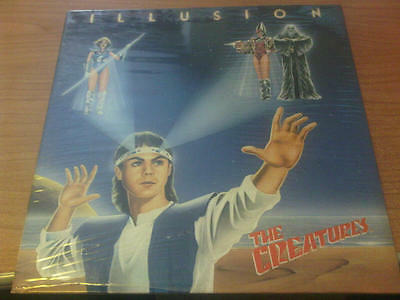 Lp The Creatures Illusion Zig Zag Zplzz 34231 Sigillato Italy Ps 1985 Mcz4