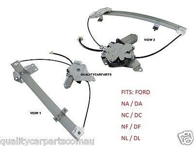 Window Regulator Ford Falcon NA NC NF NL FAIRLANE Front RH Driver With Motor NEW
