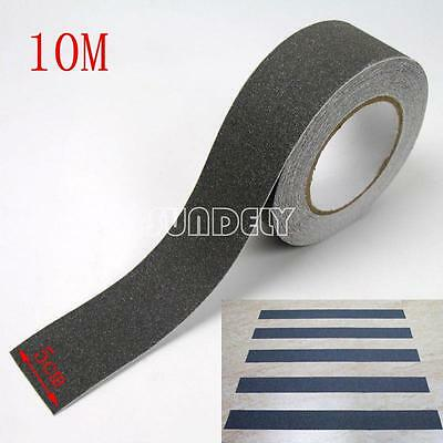 Sundely Gray 5cm Safety Grip Anti Slip Stair Tread Tape 10M Roll Self Adhesive