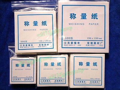 500x Laboratory Analytical Weighing Paper Dish Scale Balance 75/90/100/120/150MM