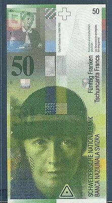 Switzerland 50 Francs Franken, 2012, P 71, UNC