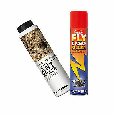 Affordable Excellence Ant Killer Fly & Wasp Killer Slug Killer Buy 2 Get 1 Free