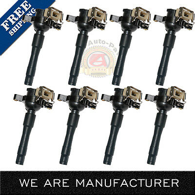 Set 8 Ignition Coil for 94-05 BMW 3 5 Series M5 X5 Z8 740 540 i iL 840 Ci IC08