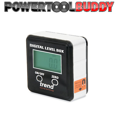 Trend DLB Digital Level Box,Great For Table & Mitre Saws