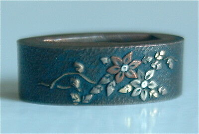 Fuchi for Katana Japanese Sword  Wakizashi Edo period