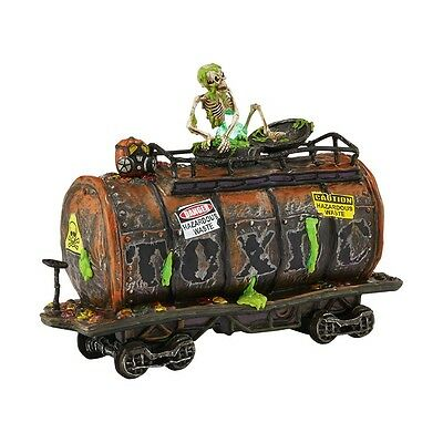 DEPARTMENT 56 4042419 Haunted Rails, Toxic Waste Car