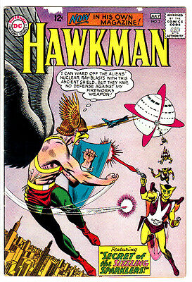 HAWKMAN #2 (FN-) Classic Silver-Age Issue! Murphy Anderson Art! 1964 DC