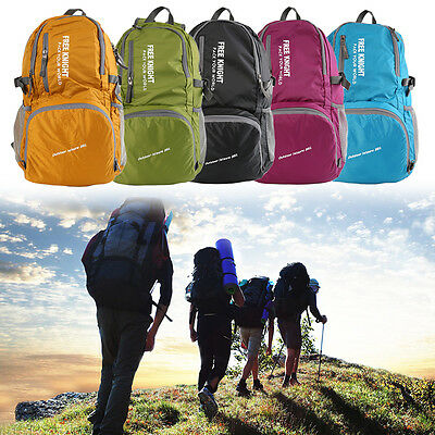 35L Durable Packable Backpack Ultra Lightweight Water Resistant Backpack D#