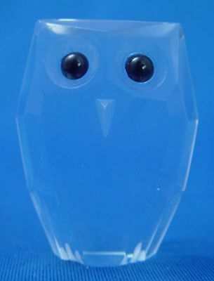 Mini Chouette en Verre / Mini Glass Owl