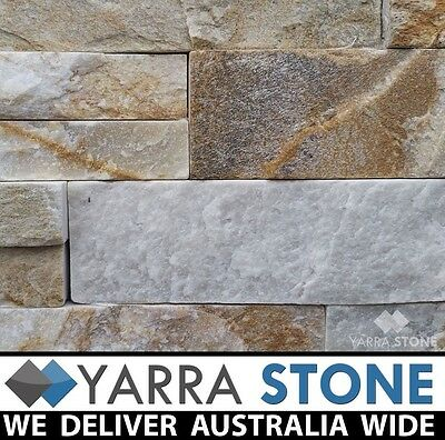 Stone Wall Cladding / Stacked Stone / Stackstone Sunset Stack stone- SAMPLE ONLY
