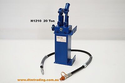 Hydraulic Shop Press 20T High / Low Pump Assembly @ Dtm Trading
