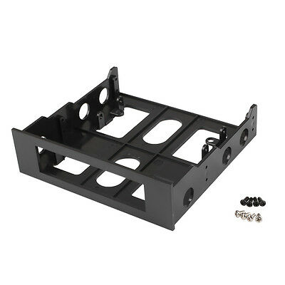 3.5'' to 5.25'' Drive Bay Slot Computer Case Adapter Mounting Bracket Floppy