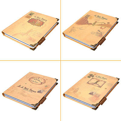 Little Prince Hard Cover Planner Pocket School Study Notebook Journal Diary