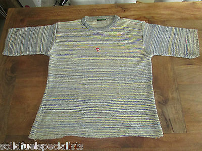 90's VINTAGE GIO GOI RETRO T-SHIRT CLASSIC STYLE WITH 3/4 SLEEVES