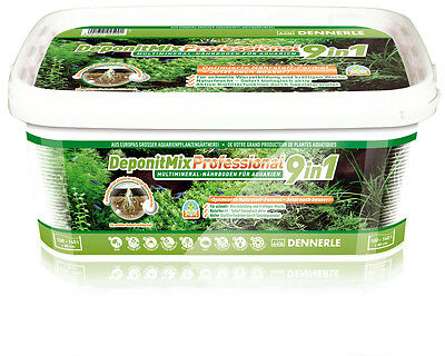 Dennerle DeponitMix Professional 9in1 - Aquarium Plant Nutrient Soil 4.8kg