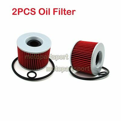 2x Oil Filter For YAMAHA XJR1200 XJR1300 FZX700 FZ750 FZR750 FZR750R FJ1200