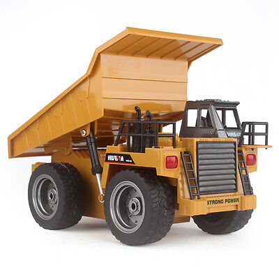 2.4G RC Truck Alloy 6 Channel Remote Control Multi-function Mine Dump Truck