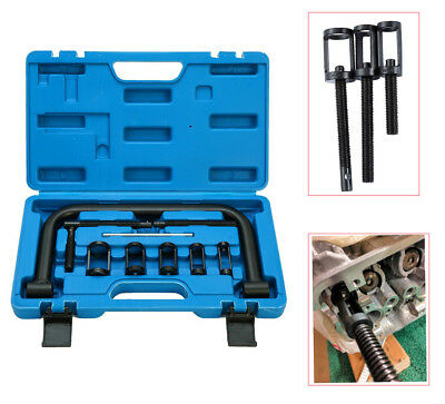 Motorcycle Car Valve Clamps Spring Compressor Kit Removal Repair Tool Free Ship