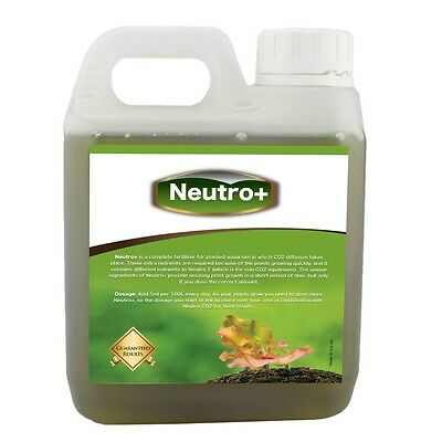 Neutro+ Aquarium Plant Fertiliser with NPK Macro Nutrients Planted Tanks 1000ml