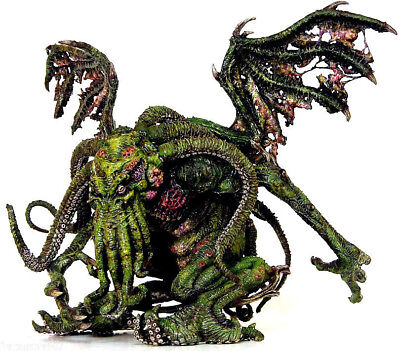 H P LOVECRAFT - CTHULHU Green Version PVC figure 20cm by Sota