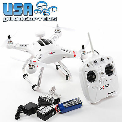 Quanum Nova GPS Quadcopter Drone w/ Transmitter Battery/Charger RTF Ready to Fly