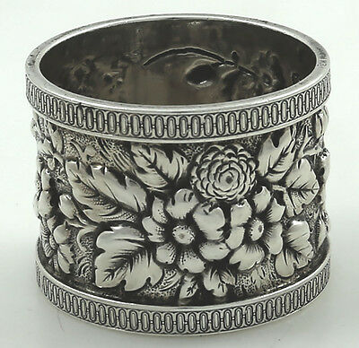Fine Quality Heavy American Sterling Napkin Ring