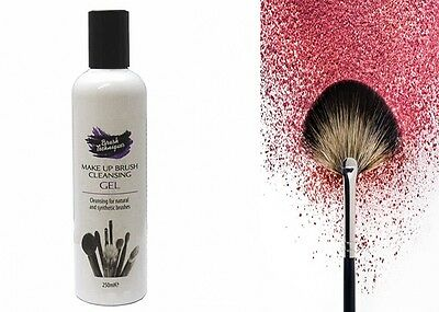 New Makeup Brush Cleansing Gel Cleaner For Natural And Synthetic Brushes 250Ml